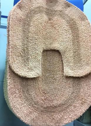 Набор ковриков 2 шт (коврики. коврик) для ванной и туалета