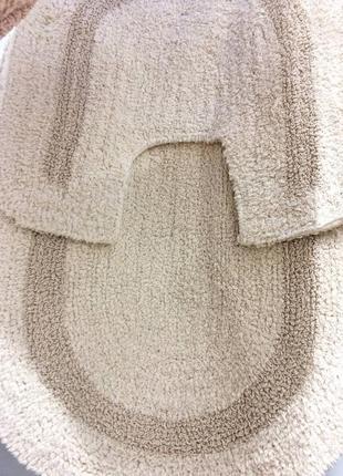 Набор ковриков 2 шт для туалета и ванной (коврик, коврики)