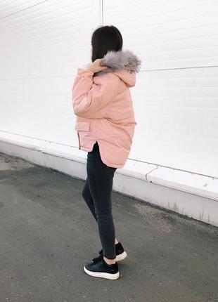 Теплая зимняя курточка/пуховик/парка