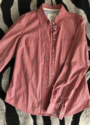 Хлопковая рубашка h&m