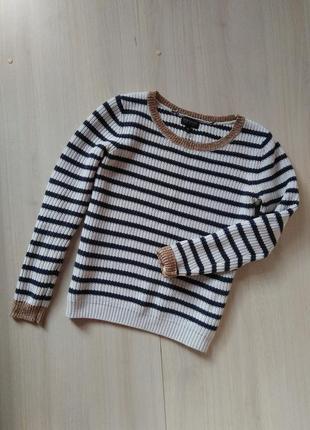 Джемпер свитер в полоску теплый topshop