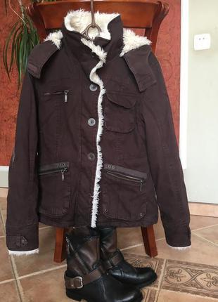 Импортная утепленная куртка