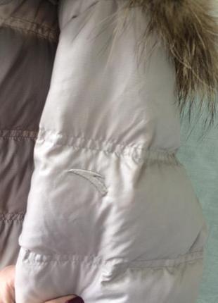Куртка на пуху зима