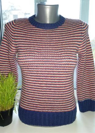 Зимний теплый свитер h&m