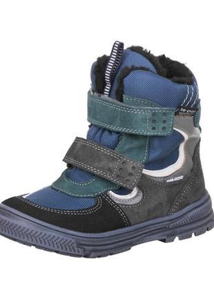 Зимние ботинки с мембраной mido noster польша р.20-36