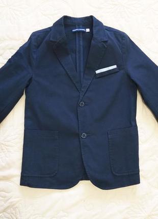 152 см фирменный школьный пиджак original marines