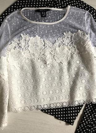 Красивенная блуза new look