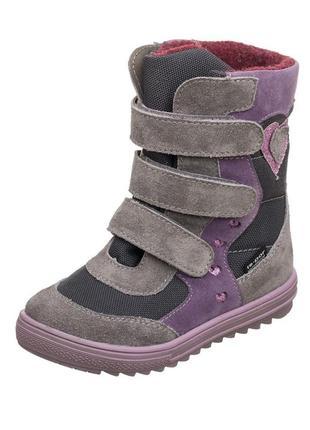 Зимние ботинки с мембраной mido noster польша р.26-36
