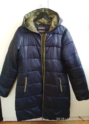 Курточка удлиненная на синтепоне
