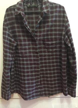 Домашняя рубашка пижамная zara