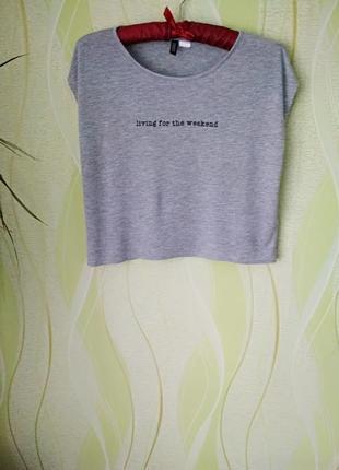 Укороченная футболка/топ от h&m