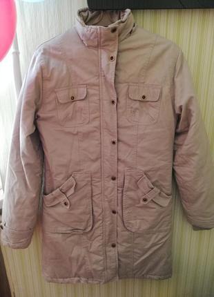 Парка пальто куртка зимняя