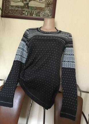 Фирменный свитер джемпер от atmosphere р. м-л