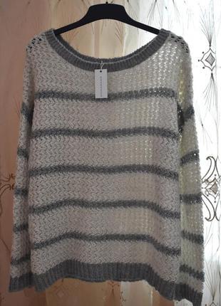 L – стильный вязаный свитер – promod – новый