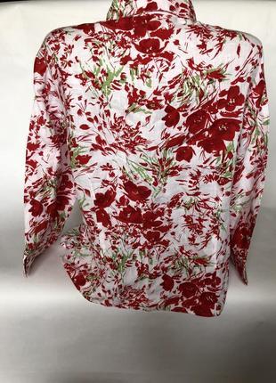Шикарная льняная рубашка2 фото