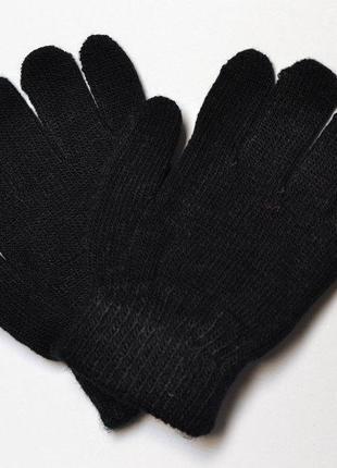 Перчатки для девочки с начесом