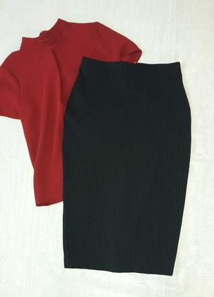 Базовая миди юбка карандаш
