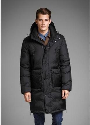 Мужская зимняя куртка пальто пуховик удлиненная h&m