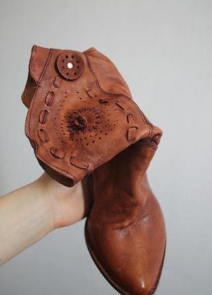 Рыжие сaпоги ботинки / рижі чоботи
