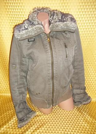 Женская куртка mexx на холодную осень, можно попробовать теплая зима.