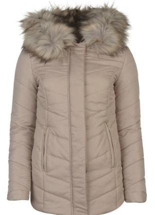 Женский пуховик зимняя куртка firetrap