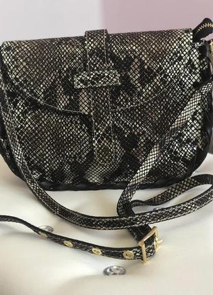 Женская сумка из натуральной кожи италия