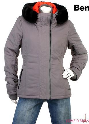 Куртка женская демисезон bench парка осень зима весна синтепоновая курточка жіночий бомбер