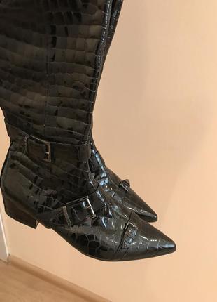 Кожаные сапоги сапоги кожаные guess сапоги guess размер 38 - 39