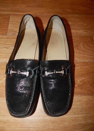 Туфли-мокасины. натуральная кожа.