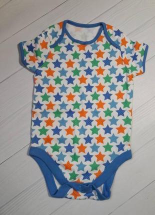 "Бодики с коротким рукавом ""little star"" от f&f 12-18 мес."