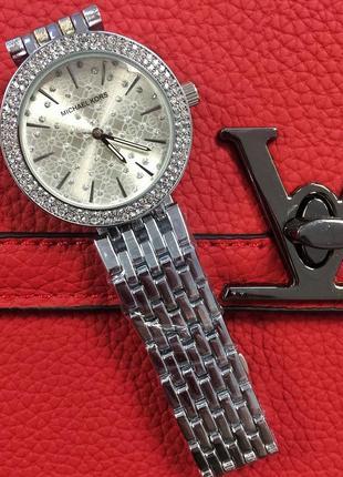 Часы серебро silver michael kors