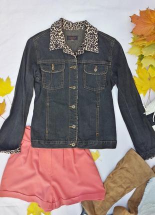 Шикарный эксклюзивный джинсовый пиджак-куртка
