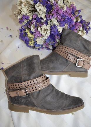 Ботинки кожаные 37 размер footglove италия