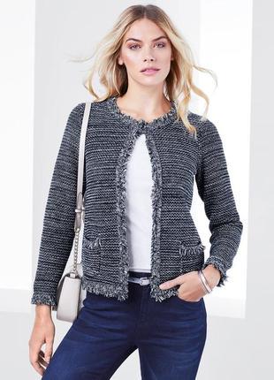 Стильный пиджак-блейзер,германия ( евро 36-38)