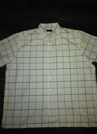Рубашка в крупную клетку