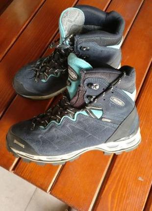 Оригинал ботинки meindl gore-tex германия 39 р как lowa zephyr/albula/scarpa vibram