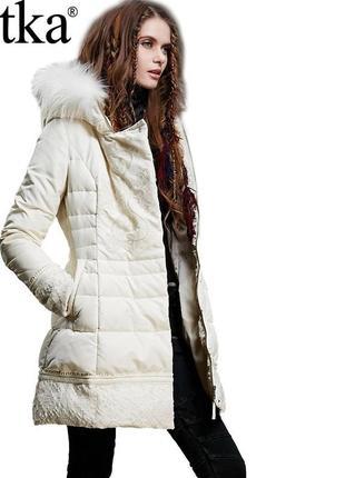 Дизайнерская куртка artka с вышивкой