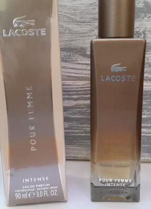 Lacoste pour femme intense edp90ml  оригинал