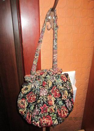 Экслюзивная сумка расшитая бисером