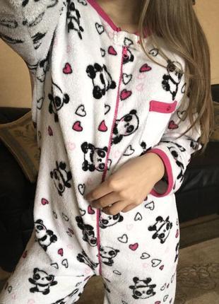 Милая пижама панды хs-s