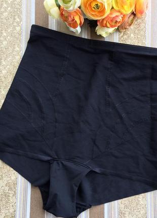Высокие трусы утяжка корсет трусики белье