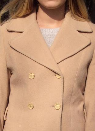 Бежевое пальто new look