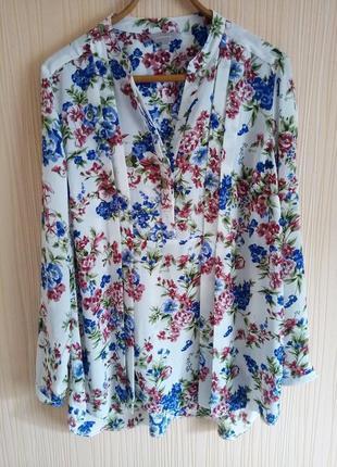 Красивая блузка 52 разрмера