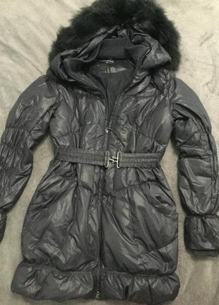 Зимний пуховик куртка пальто пух перо savage