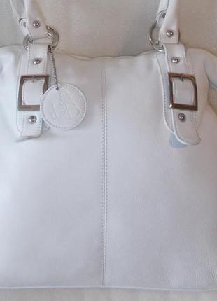 Большая сумка *bolla* натуральная кожа