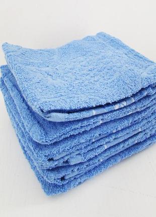 Набор из шести махровых полотенец