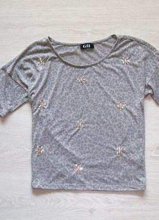 Укороченная футболка george