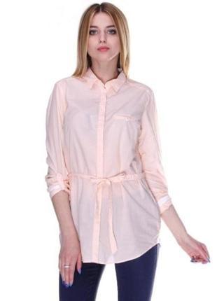 Рубашка, блуза massimo dutti  хлопок