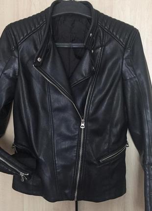 Курточка шкірянка h&m