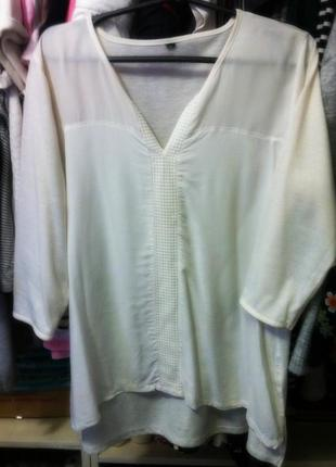 Рубашка блузка белая h&m